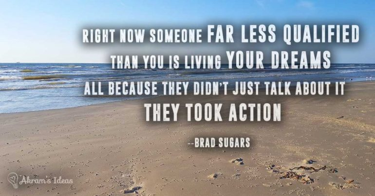 Took Action -quote