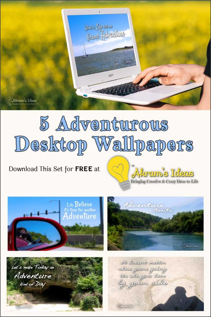 July is the best time of year to have an adventure! With that said here are 5 free adventurous desktop wallpapers to inspire and motivate you.