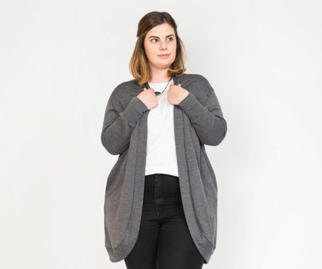 In the Folds - Slouchy Cardigan