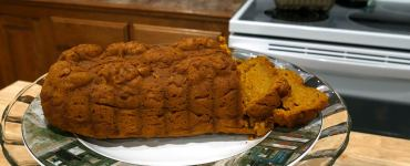 Recipe for classic pumpkin bread a great addition to any autumn get together.
