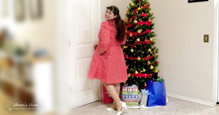 Review of the Sew Over It Vintage Shirtdress made for the Little Red Dress Project 2017.