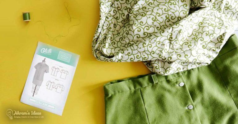 Akram's Ideas: Colette Violet top