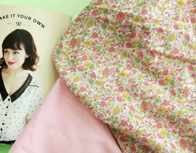 """Sharing my 2018 spring sewing plans with another episode of """"On the Sewing Table"""" where I'm sharing projects with pretty pastels and floral prints."""