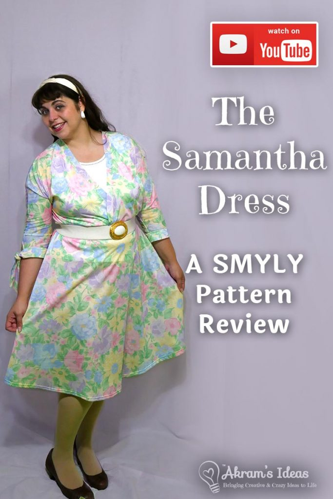 Kicking off the first day of Me Made May (#mmmay18) with a review of one of my newest favorite makes, the SMYLY Samantha Dress.