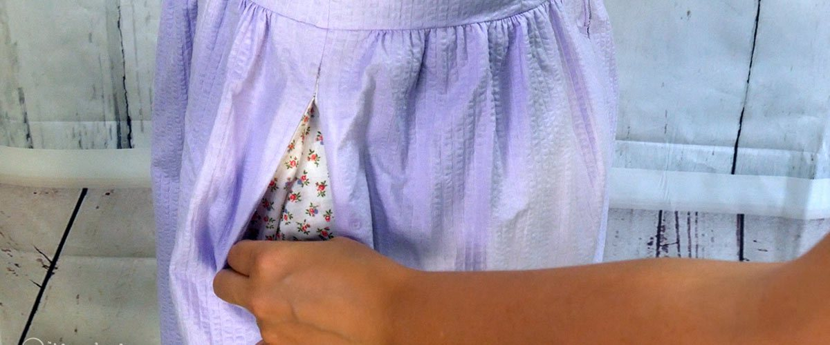 I'm a strong believer that pretty much all dresses and skirts need pockets. That's why I'm sharing my method for adding side seam pockets to any skirt.