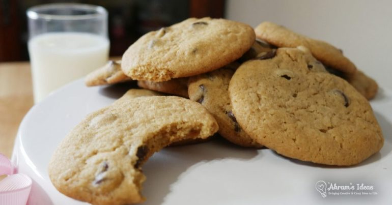 The secret to the ultimate chocolate chip cookies recipe revealed through my extensive cookie baking tests. Oh, and it's practically sugar-free!