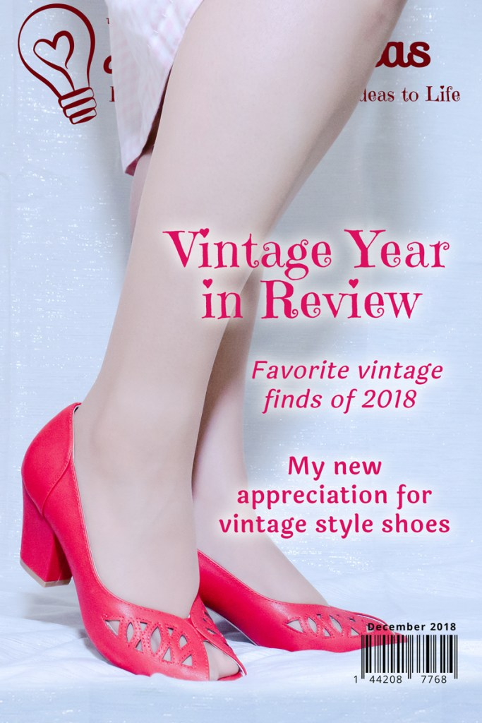 Playing along with the Instagram challenge to share some of your best vintage fashion/decor stories of the year.