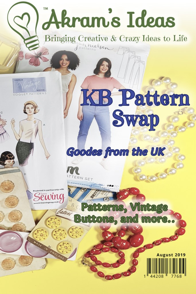 Sharing all the goodies I recived in my #KBPatternSwap all the way from the UK.