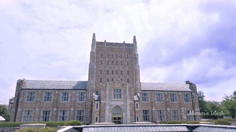 TU McFarlin Library