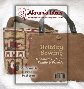 Akram's Ideas: Holiday Sewing
