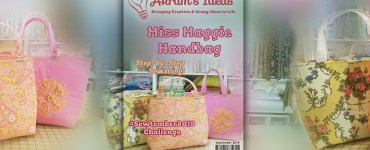Akram's Ideas: Miss Maggie Handbag Sew-Along