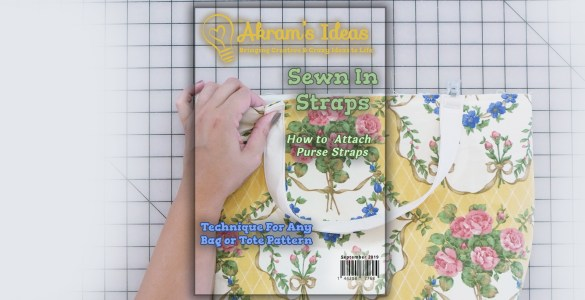 Akram's Ideas: Attaching Sewn-in Straps