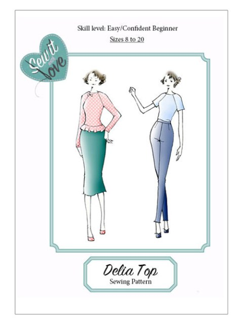 Sew It With Love : Delia Top