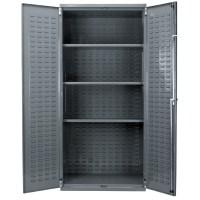 Akro-MIls Steel Storage Cabinet | Louvered Doors | Lock ...