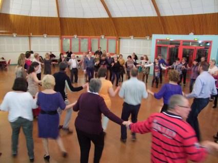 A Dijon, des danseurs venus nombreux au stage...