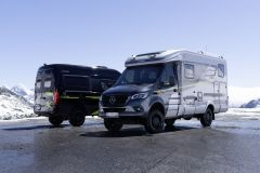 Hymer ML-T 570 CrossOver a Hymer Grand Canyon S CrossOver