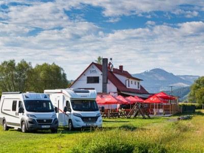 Camp & Stellplatz Olešná