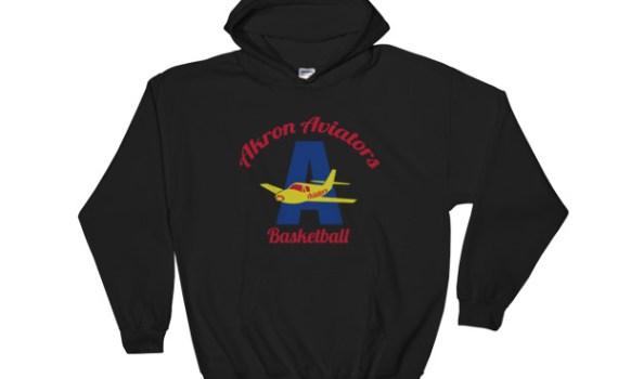 Akron Aviators Hoodie (Black/Grey)