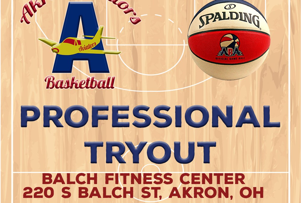 Akron Aviators Tryouts – June 1, 2018