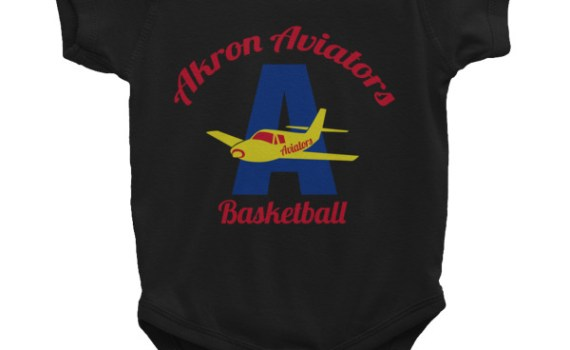 Akron Aviators Infant Onesie (6m-24m)