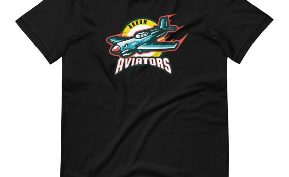 Akron Aviators Logo T-Shirt (unisex)