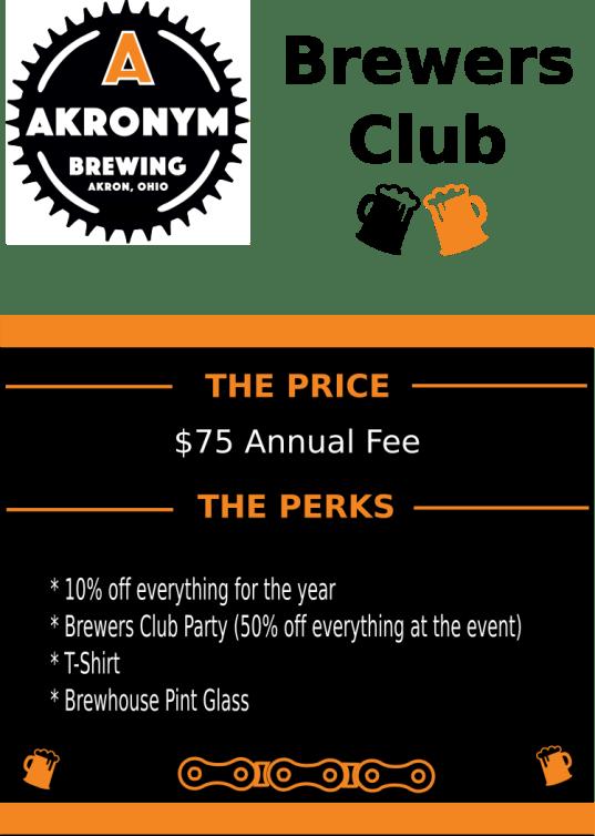 Brewers Club Update