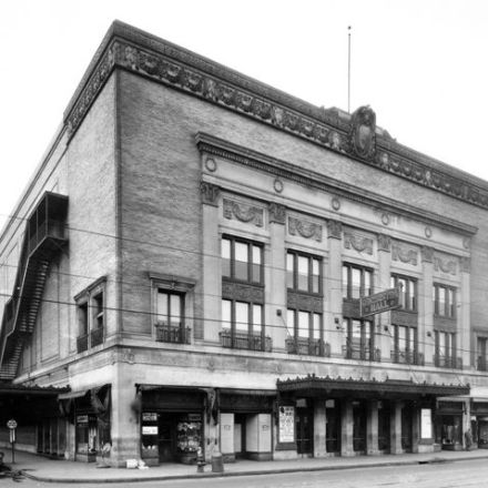 The Paradise Theater, photo from the Detroit Historical Society