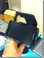 iPhone・スマートフォン車載ホルダー 200-CAR008NBK