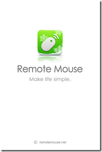 iPhone/iPod touchをワイヤレスマウスにできるアプリ「Remote Mouse」