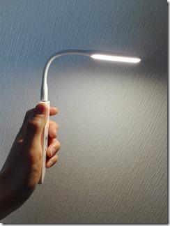 Xiaomi(シャオミ)ポータブルUSB LEDライト強化版は省電力