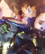 Aksaray'da kamyonet kamyona çarptı: 5 yaralı