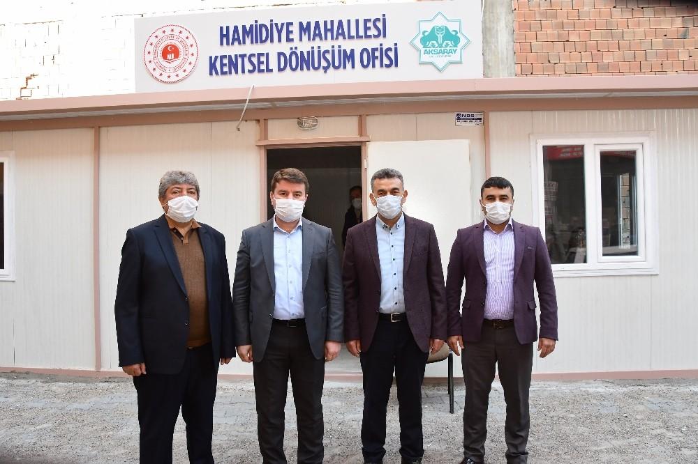 Türkiye'ye örnek olacak kentsel dönüşüm için Aksaray'da ilk adım atıldı