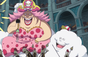 FOTO: Big Mom dan Zeus pada Anime One Piece episode 816