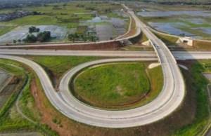Pembangunan jalan tol Medan-Binjai. Foto: Dok. Kementerian PUPR