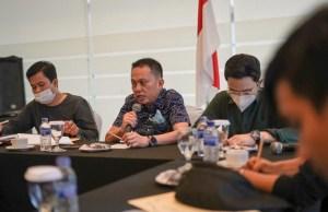 Rapat BPH BPD HIPMI Provinsi Jambi.