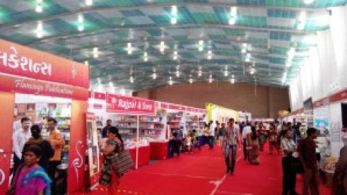 Ahmadabad Book Fair Stalls