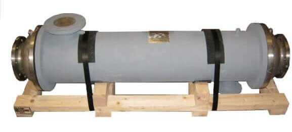 Replacement shell and tube heat exchanger