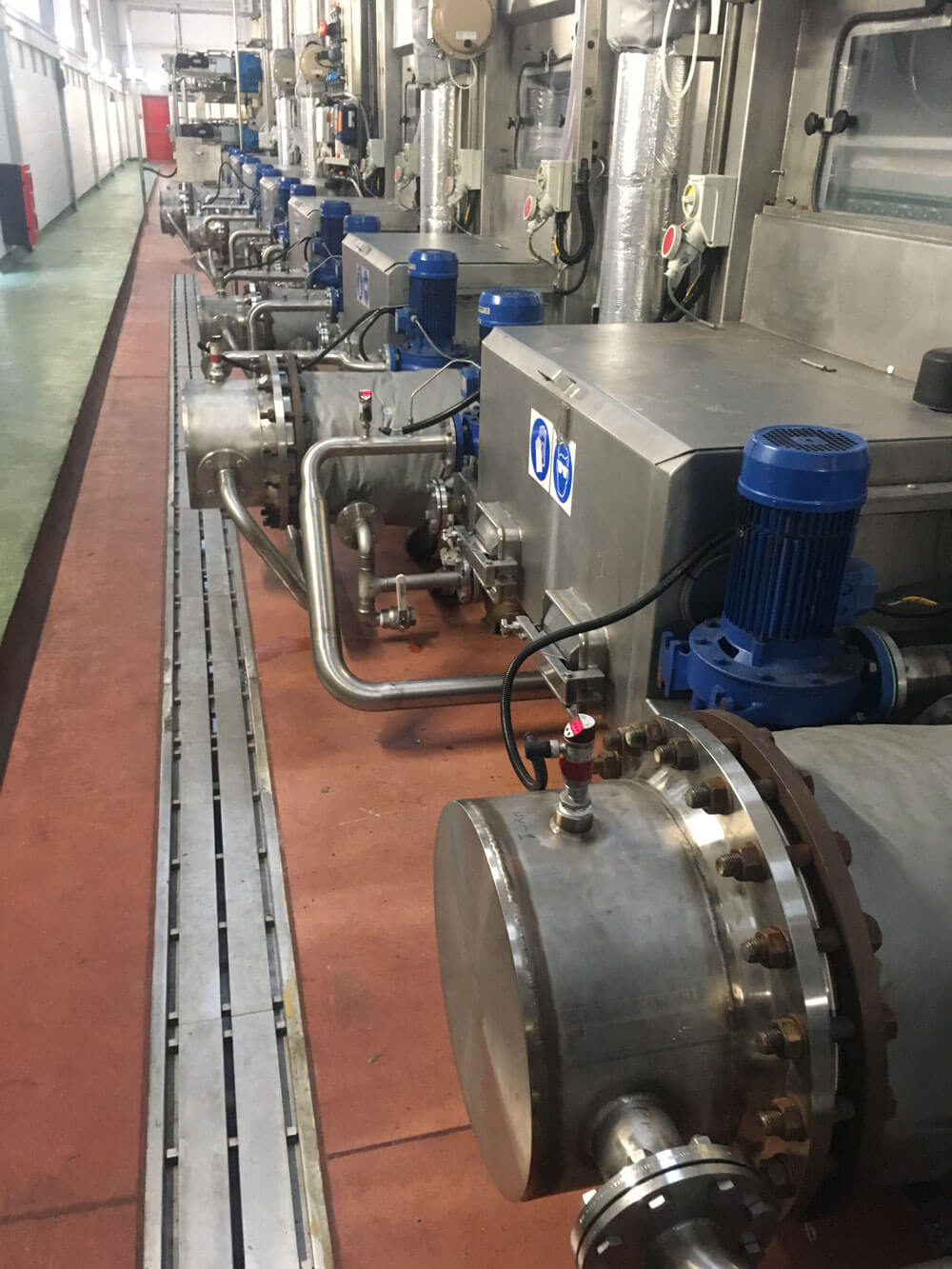 Heat Exchangers Repaired and Back in Use