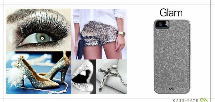A Collage to match the style of Case-Mate Case Glam