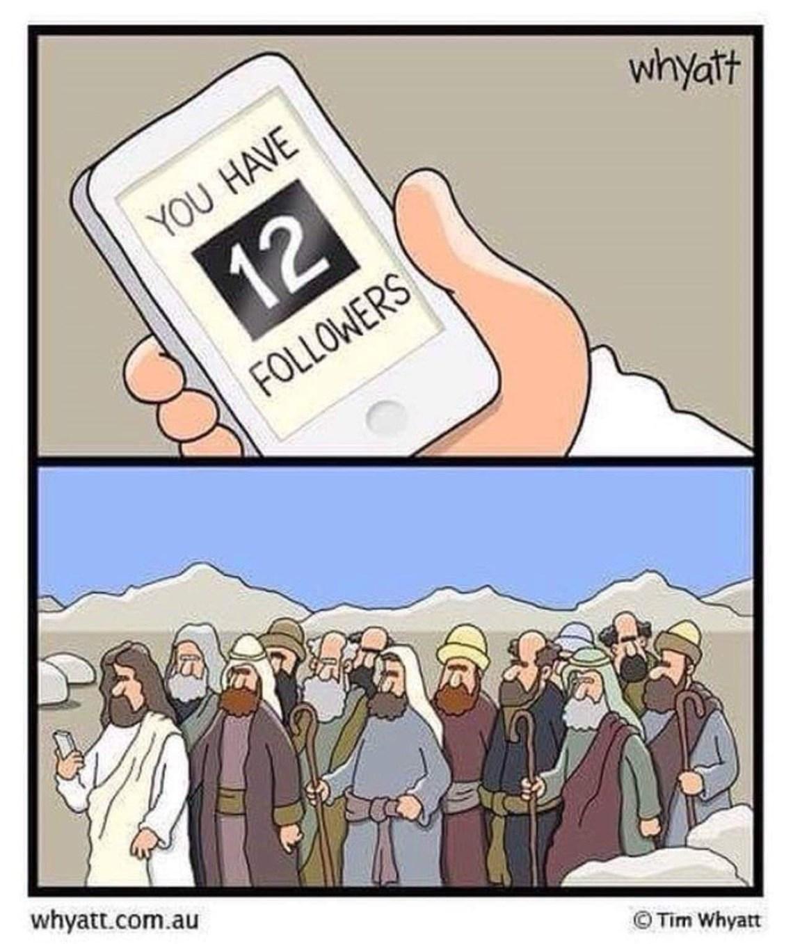 12 followers!  And rising...