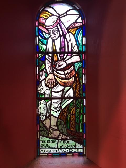 """""""The Sower"""", by Roland Mitton installed in Kiel Church, 1983"""