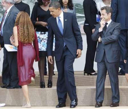 Obama Sarkozy