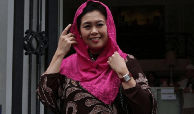 Daughter of Gus Dur Declared to Support Jokowi