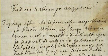 HU MNL OL - P 1462 - III. - 3. - № 2: Tisza Kálmán későbbi miniszterelnök feleségéhez írt levelének részlete (1870)