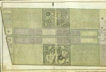A budai Nádor-kert, 1799. MNL OL T 14 – No. 1/129.
