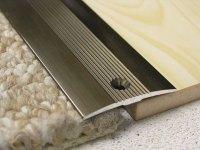 Tile carpet transition joint cover strip-carpet trim strip