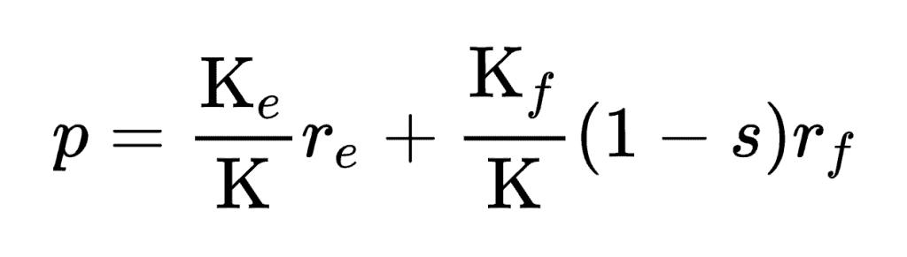 WACC formel