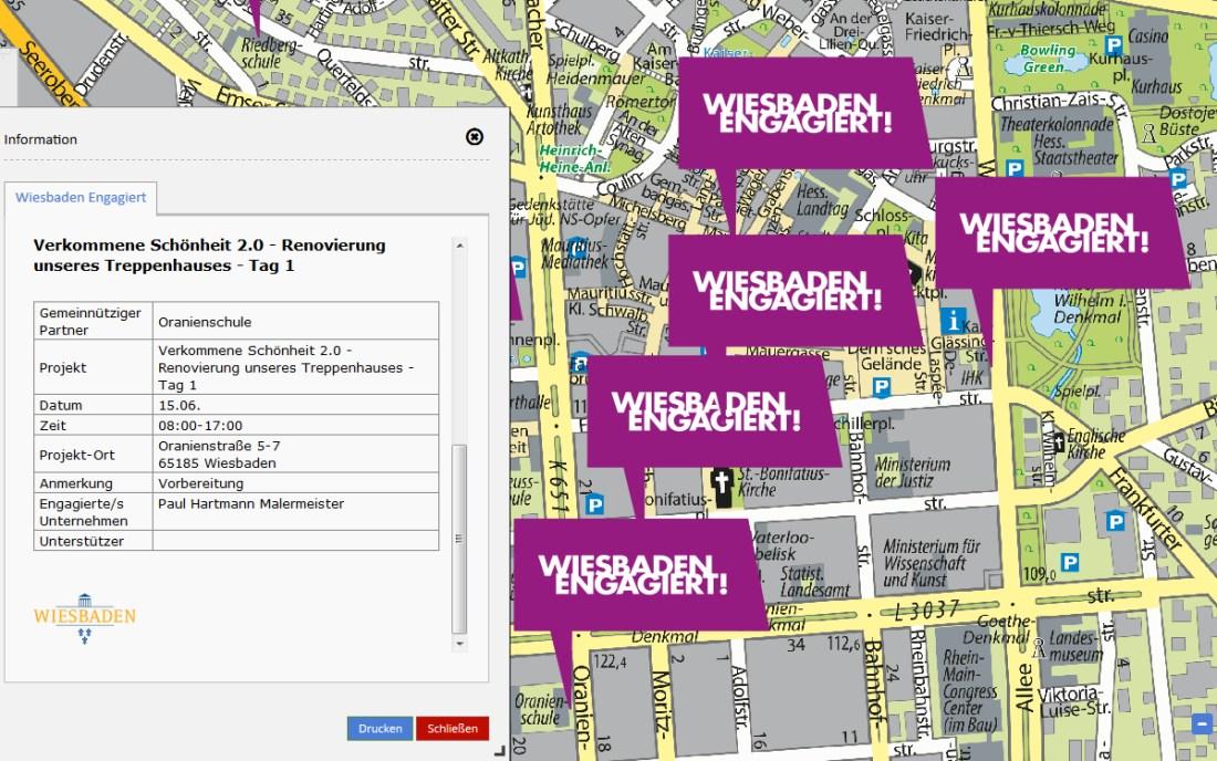 Wiesbaden Engagiert Geoportal