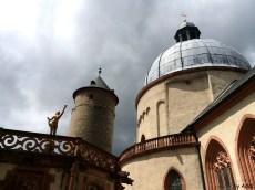 Am nächsten Tag auf der Rückfahrt: Abstecher zur Festung Marienberg Würzburg