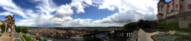 Panorama-Blick auf Würzburg